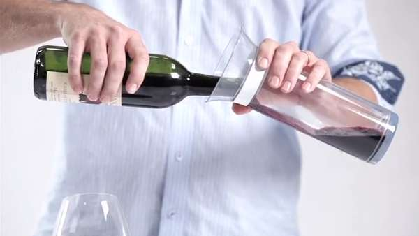 Wine-Sealing Decanters