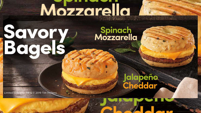 Savory Bagel Breakfast Sandwiches