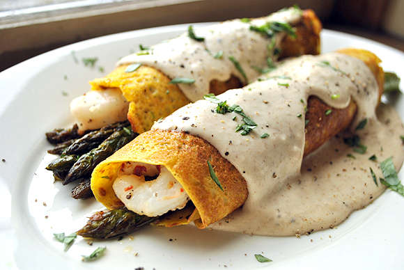 Unexpectedly Nutritious Crepes : Savory Crepe
