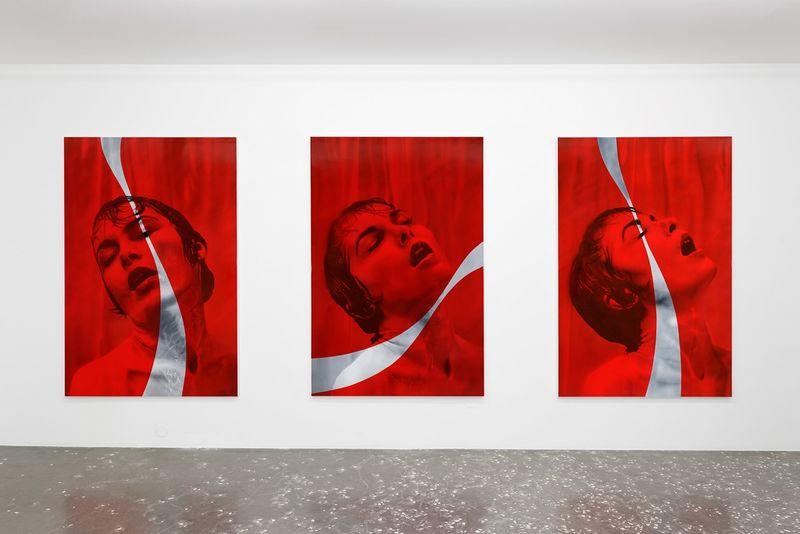 Advertisement-Themed Acrylic Art