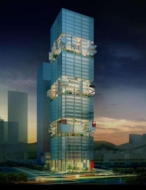 Building Block Skyscrapers
