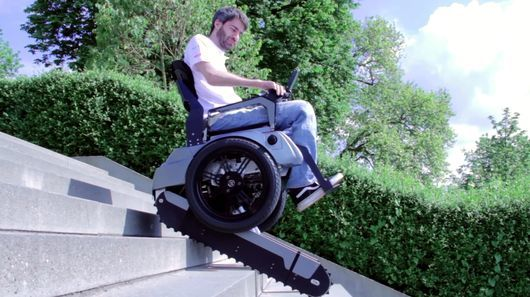 Stair-Climbing Wheelchairs