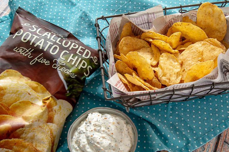 Five-Cheese Potato Chips