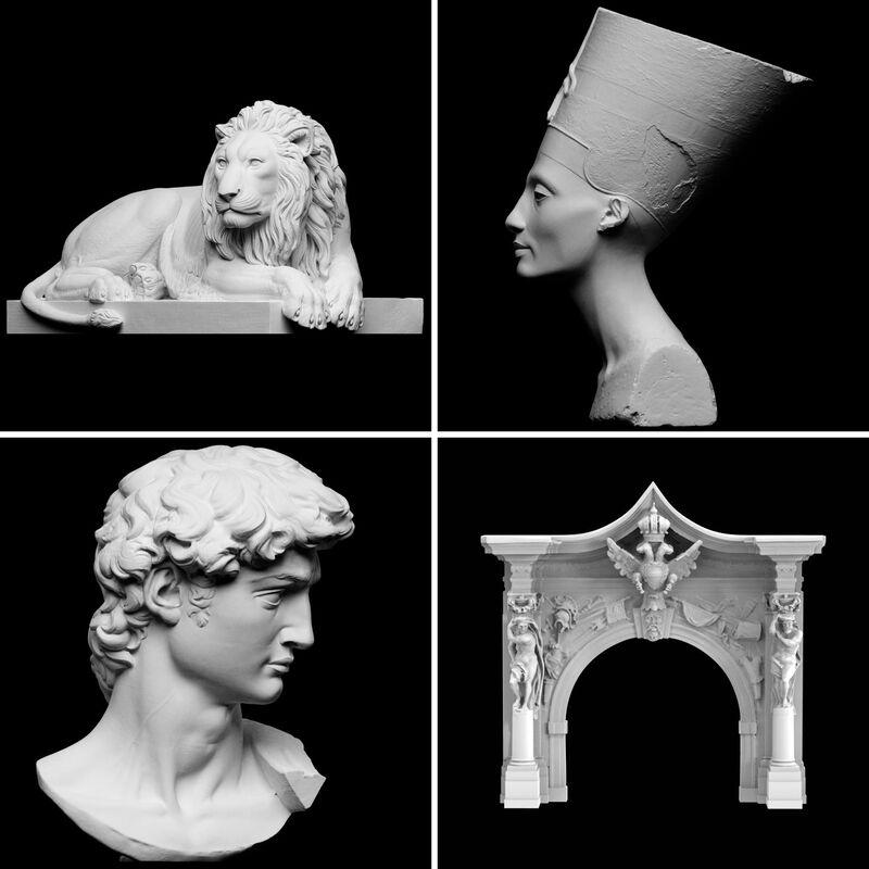 Printable 3D Artifacts