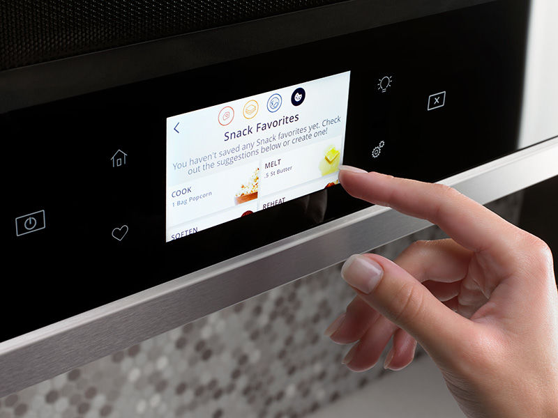 Connected Scan-to-Cook Microwaves