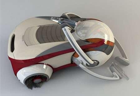 Futuristic Street-Sweepers