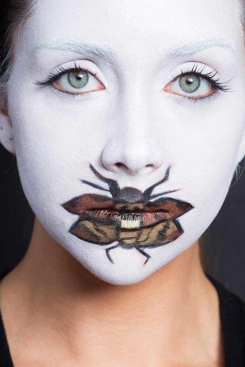 horror movie makeup scary makeup tutorial. Black Bedroom Furniture Sets. Home Design Ideas