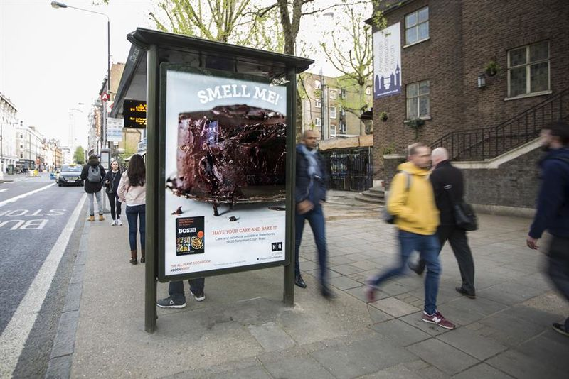 Aromatic Bus Shelter Ads