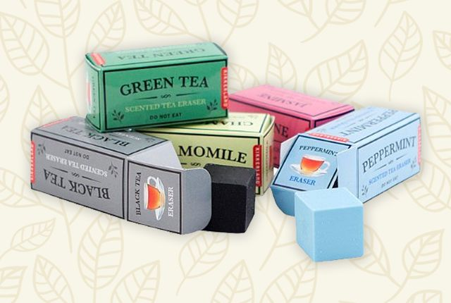Tea-Scented Erasers