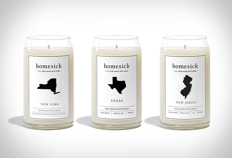 Topographic-Scented Votives