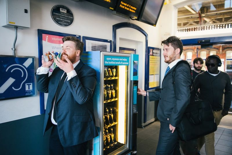 Aromatic Vending Machines