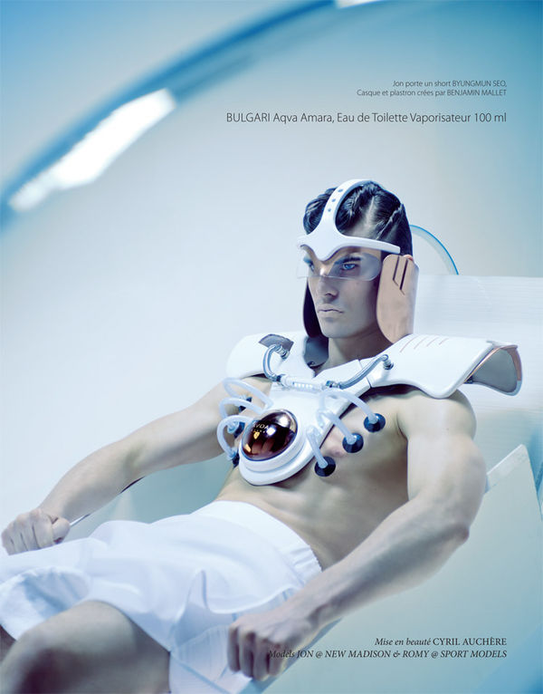 Futuristic Fragrance Editorials