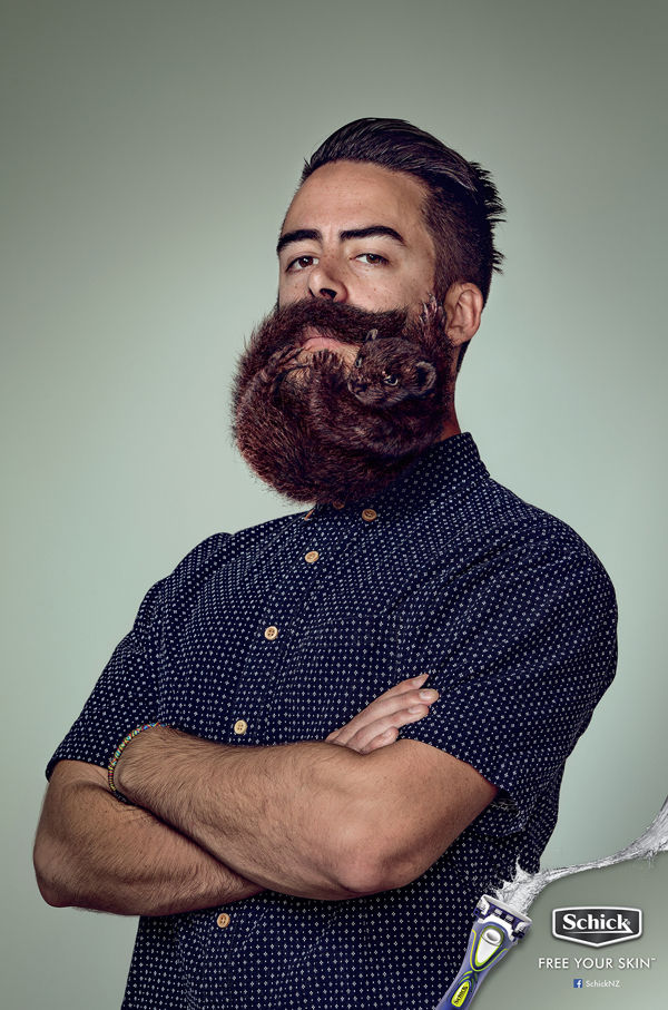 Mammalian Beard Ads