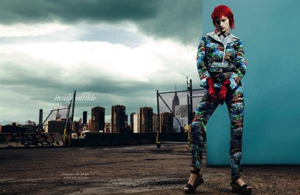 Edgy Clown-Like Fashion