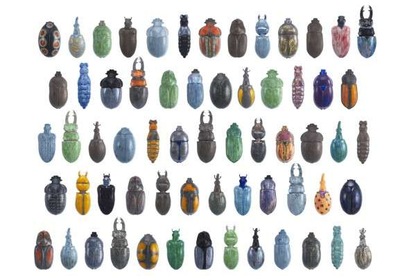 Brilliant Beetle Vases