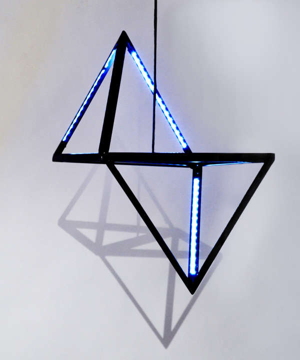 Futuristic Symmetric Lighting