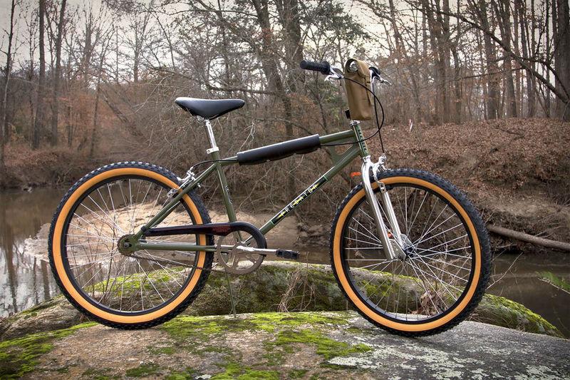 Sci-Fi 80s-Style Bikes