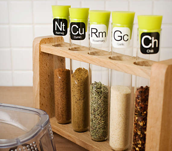 Science Lab Spice Racks