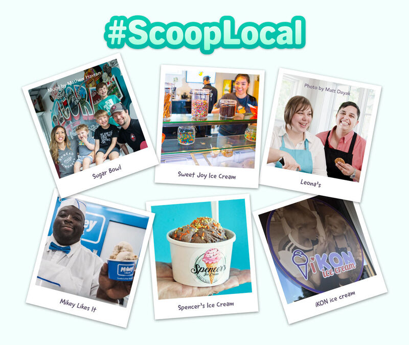 Scoop Shop-Supporting Initiatives