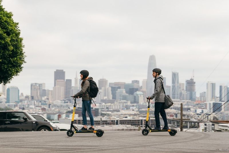 Electric Scooter Sharing Services Scooter Sharing
