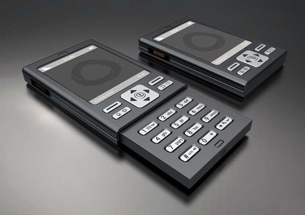 Push-Button Concept Phones