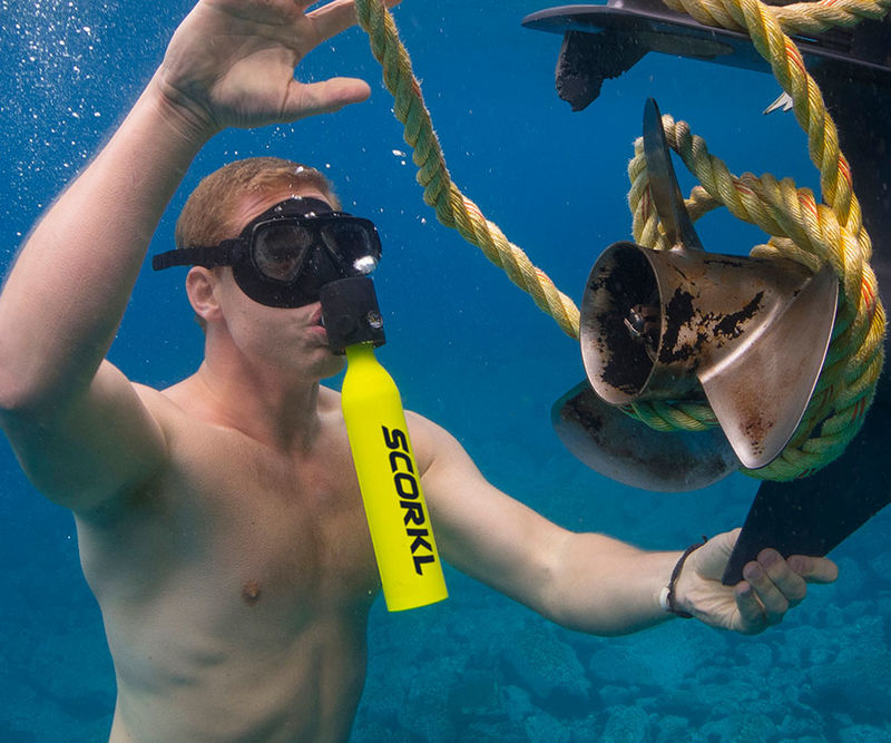 Refillable Underwater Breathing Tanks