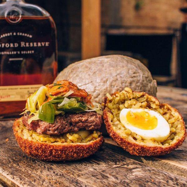 Scotch Egg Burgers