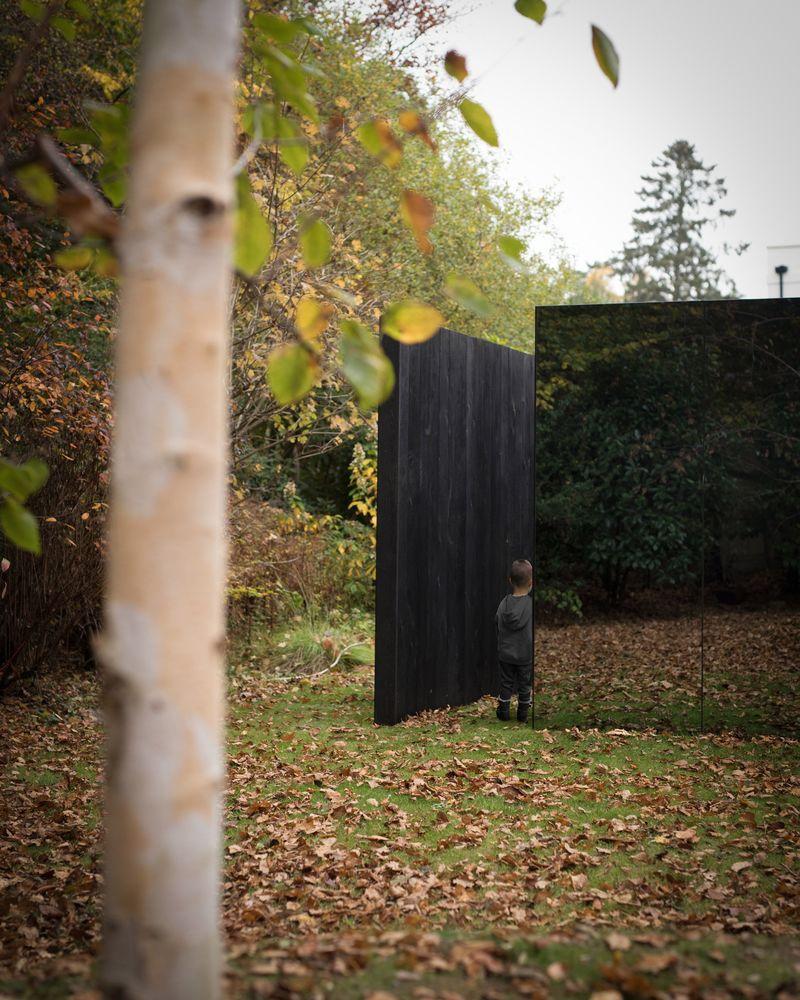 Camouflaged Garden Pavilions