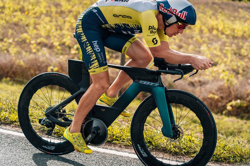 Hydration-Packed Triathlon Bikes