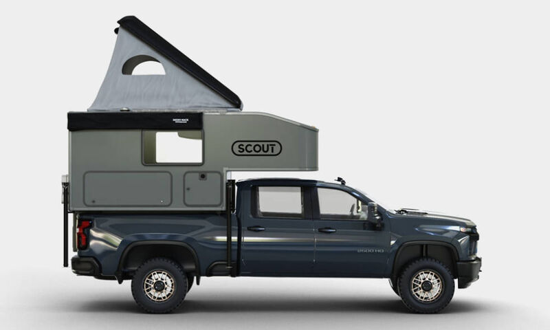 Well-Equipped Pickup Campers