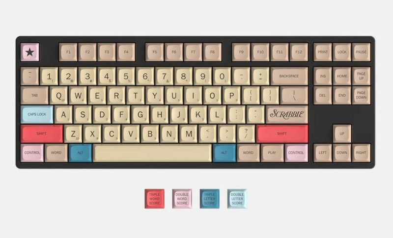 Board Game Branded Keyboards
