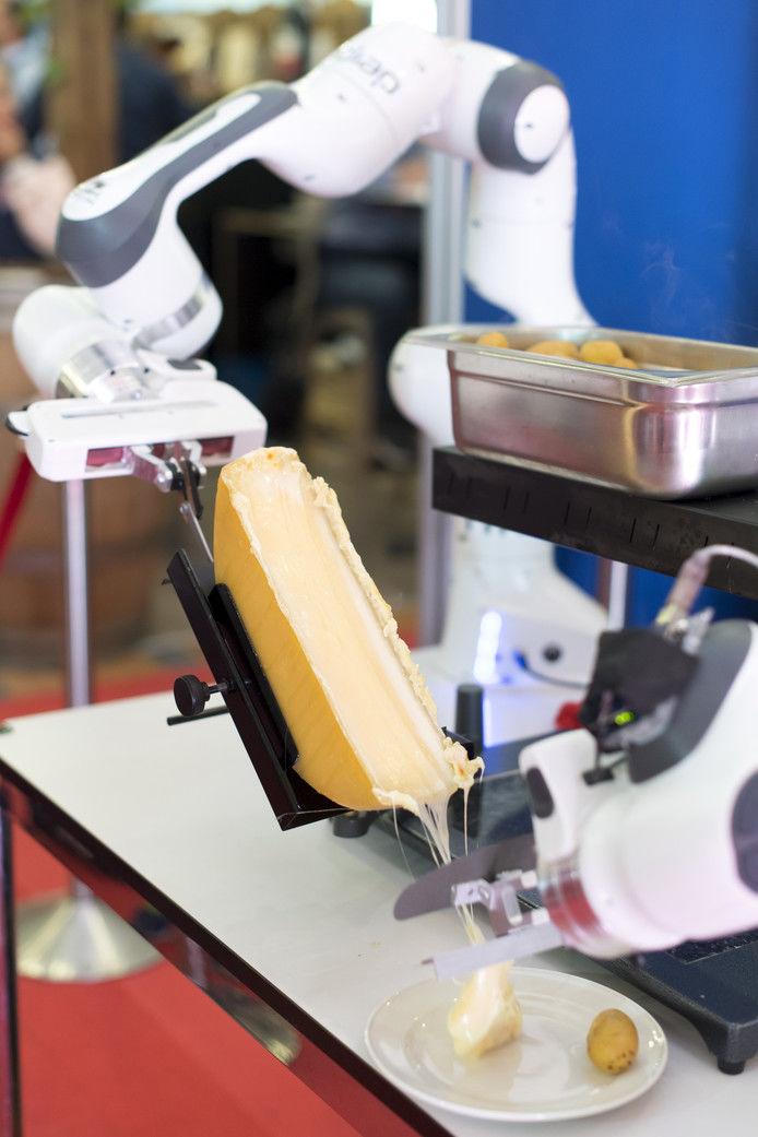 Cheese-Slicing Robots