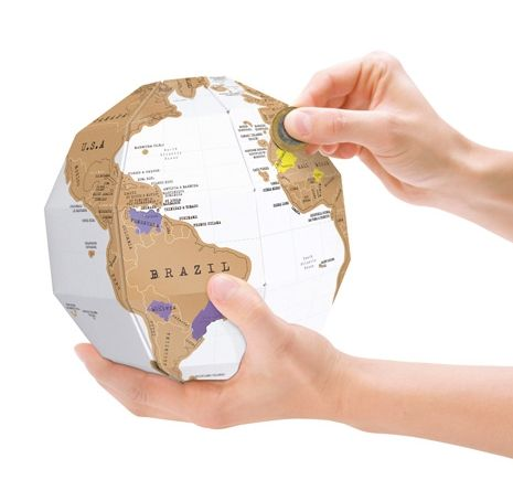 Scratchable World Maps