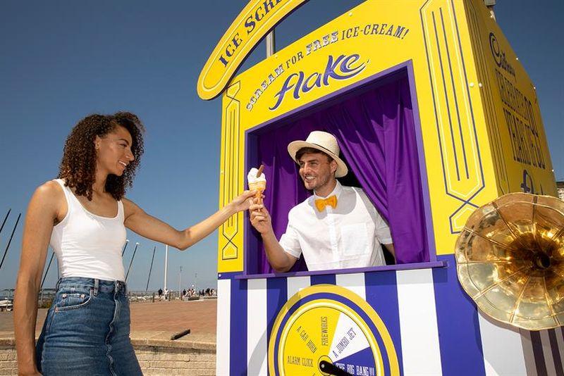 Scream-Measuring Ice Cream Machines