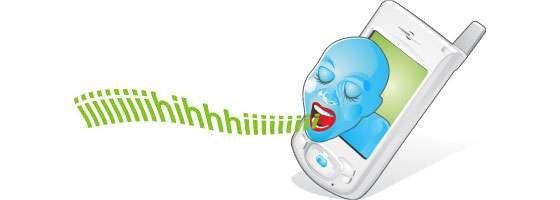 Screaming Phones