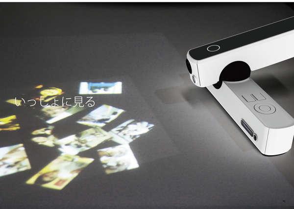 Pivoting Projector Cameras
