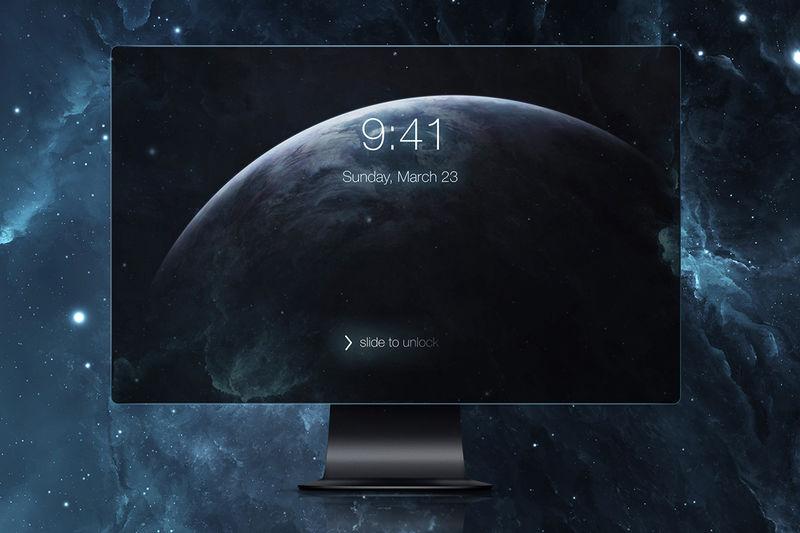 Tactile Conceptual Screen PCs
