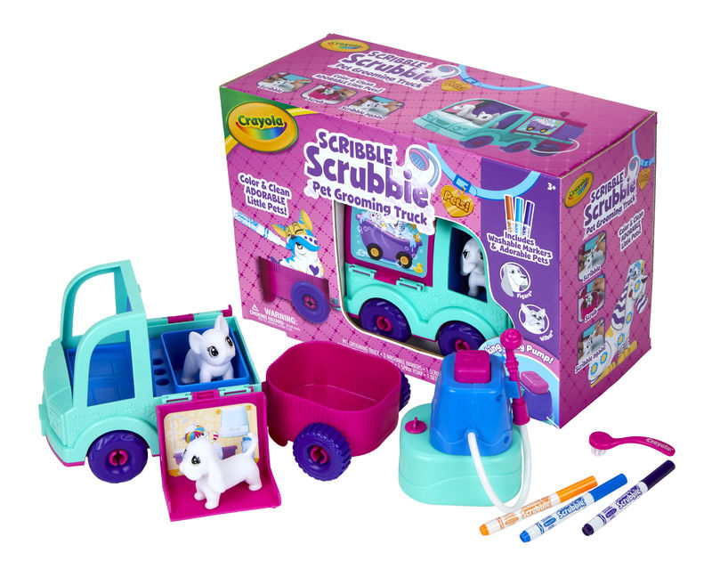 Coloring Pet Toys