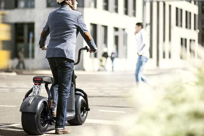 Self-Balancing Urbanite Scooters
