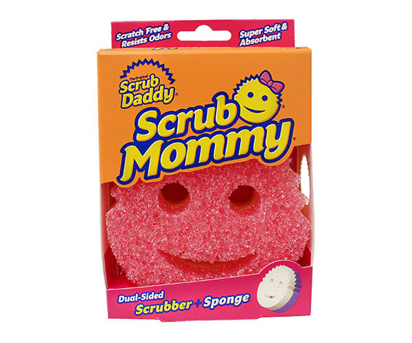 Versatile Smiley Face Scrubbers