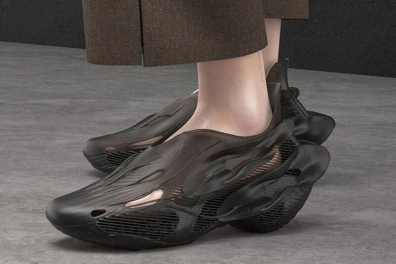Recyclable 3D-Printed Footwear