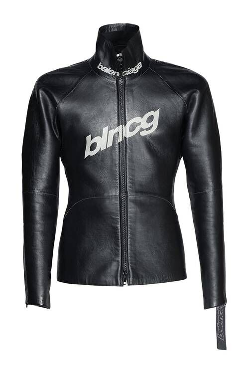 Shiny Leather Scuba Jackets