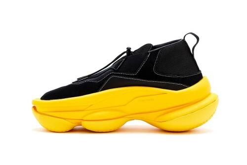 Sculptural Chunky Midsole Sneakers