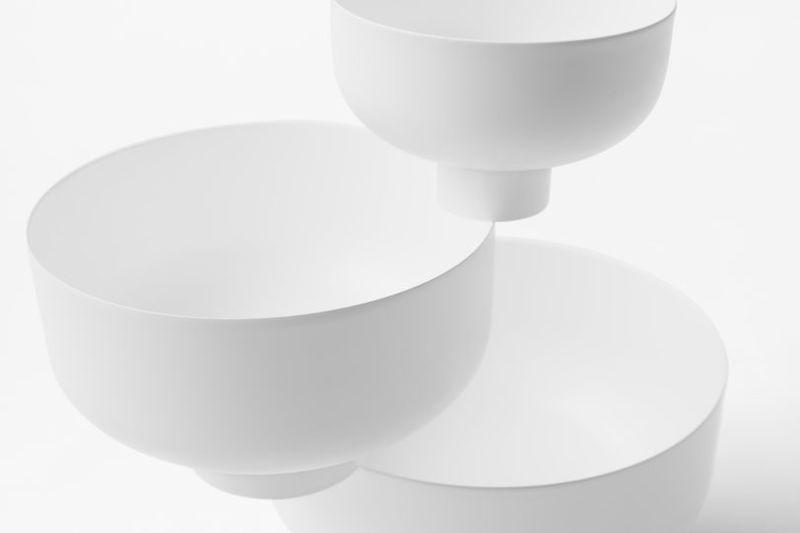Monochromatic Sculptural Bowls