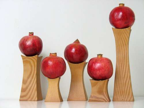 Sculptural Fruit Stands