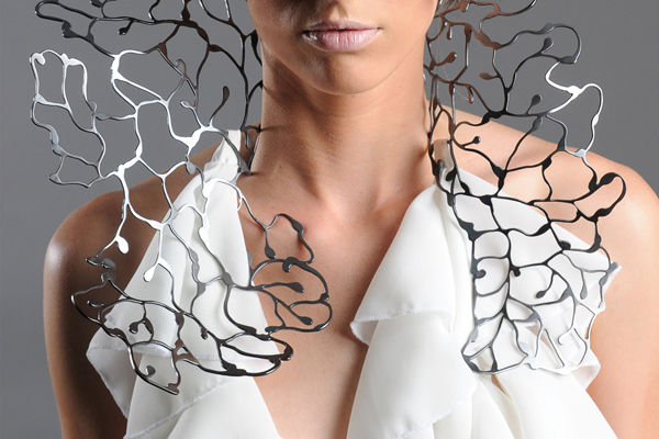 Coral-Shaped Sculptural Jewelry