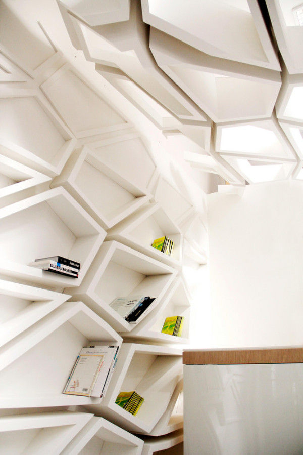 Modular Sculptural Shelving