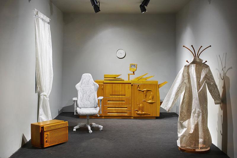 Fashion-Integrated Art Installations