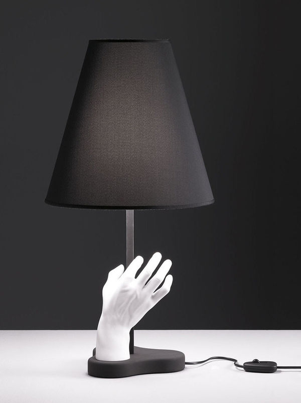 Literal Hand-Sculptured Table Lamps