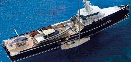Luxury Floating Yacht Garages